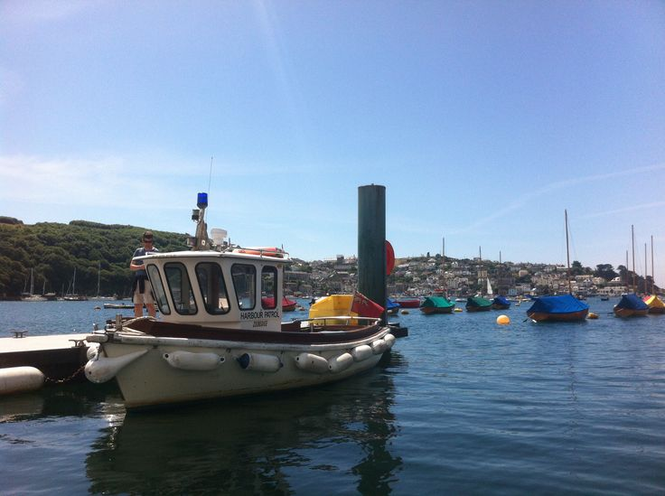 Fowey harbour - Cornwall