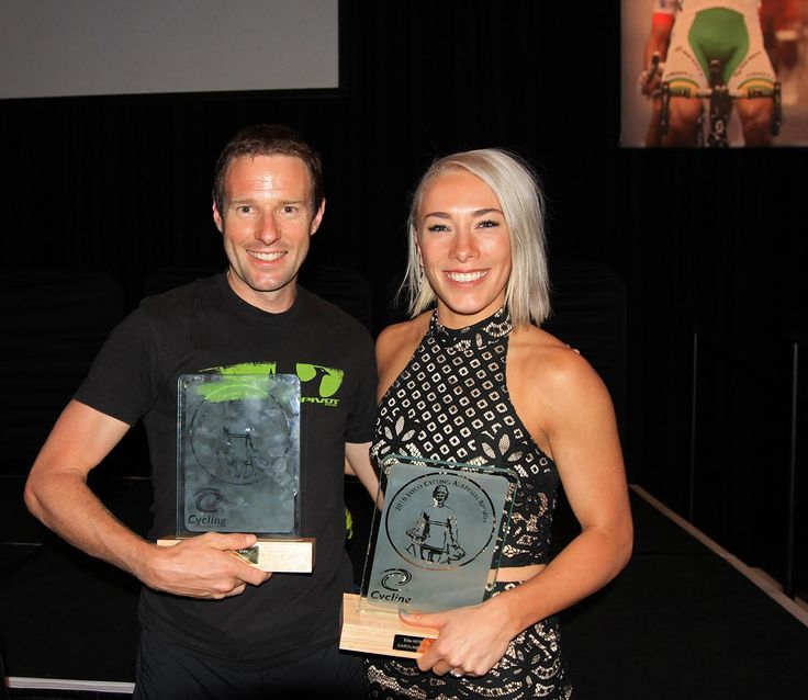 Caroline Buchanan (ACT) and Jason English (NSW) have taken out the MTB Male and Female Riders of the year at the 2016 Jayco Cycling Australia Awards held in Melbourne on Friday night.