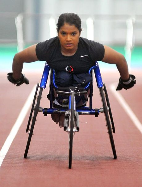 Maggie Redden is Ms. Wheelchair New Jersey 2013. In the 2008 Beijing Games, her first Paralympic Games, Redden competed in the women's 100m T53 and 200m T53. Redden graduated from Penn State University in 2007 with a bachelor's degree in communications. At Penn State, she competed in track and field and competed in basketball. She was also was an Olympic Torch bearer in 2004. #WomenWhoWow