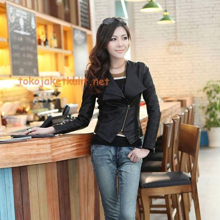 Model Jaket Kulit Wanita: Kode: B-033