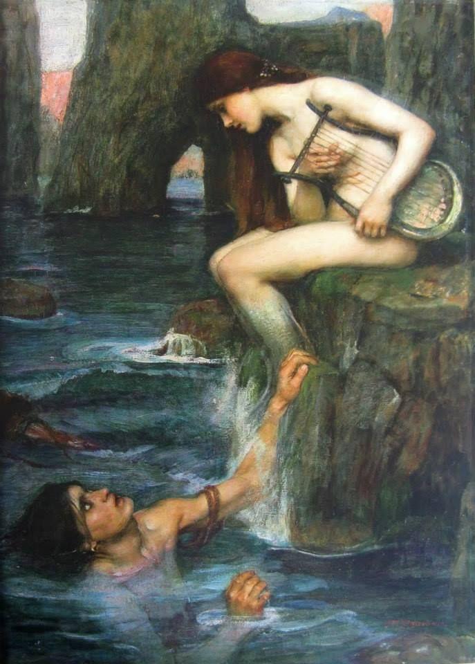 John Williams Waterhouse » Sirène, 1900
