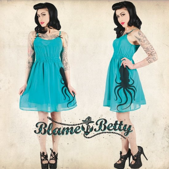 Blame Betty Octopus dress :3