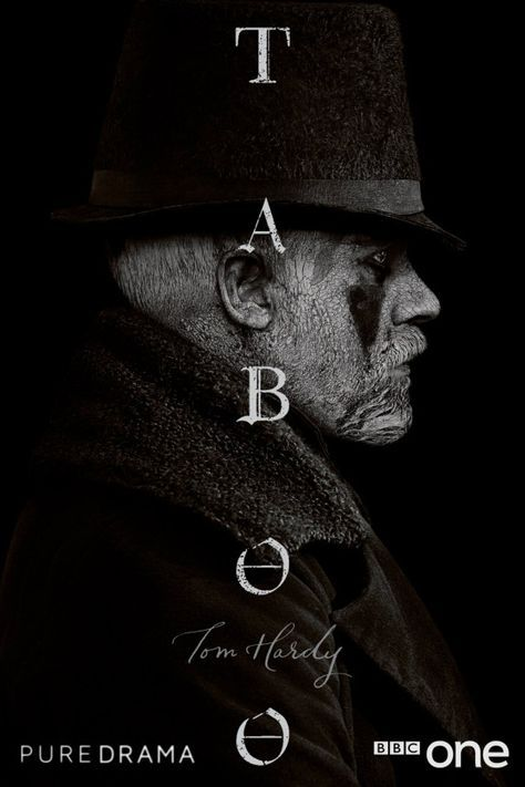 Taboo ( 2017) Tom Hardy is hot!! Loved the first episode. James Keziah Delaney returns to 1814 London after 10 years in Africa to discover that he has been left a mysterious legacy by his father. Driven to wage war on those who have wronged him, Delaney finds himself in a face-off against the East India Company, whilst playing a dangerous game between two warring nations, Britain and America.