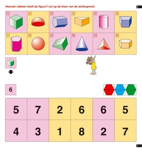Mini arco. Dos criterios, número de lados y color de fondo.