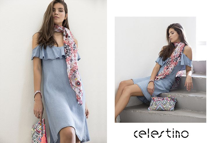 Hot girl in hot summer dress. Shop online to get the look. #Celestino #shopping #dresses #shortdress #dress #fashioninspo #styleinspiration #hot #summelook