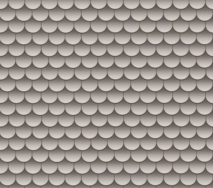 Best Light Grey Scallop Roof Shingles Dollhouse Printies 400 x 300