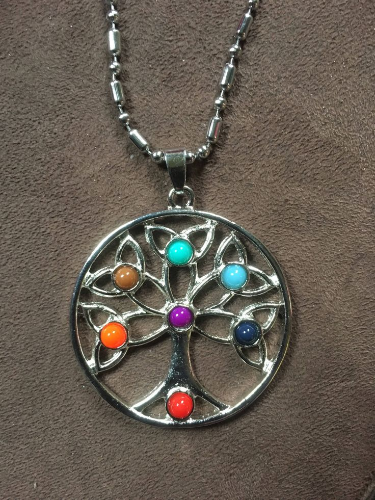 A personal favourite from my Etsy shop https://www.etsy.com/au/listing/525867842/silver-om-pendant-chakra-7-crystals