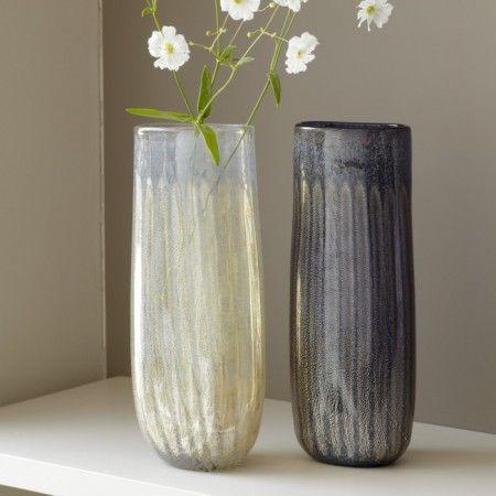Blueberry Flute Vase