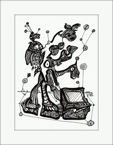HäkelBild VI von Etelka Kovacs-Koller - mad for art auf DaWanda.com