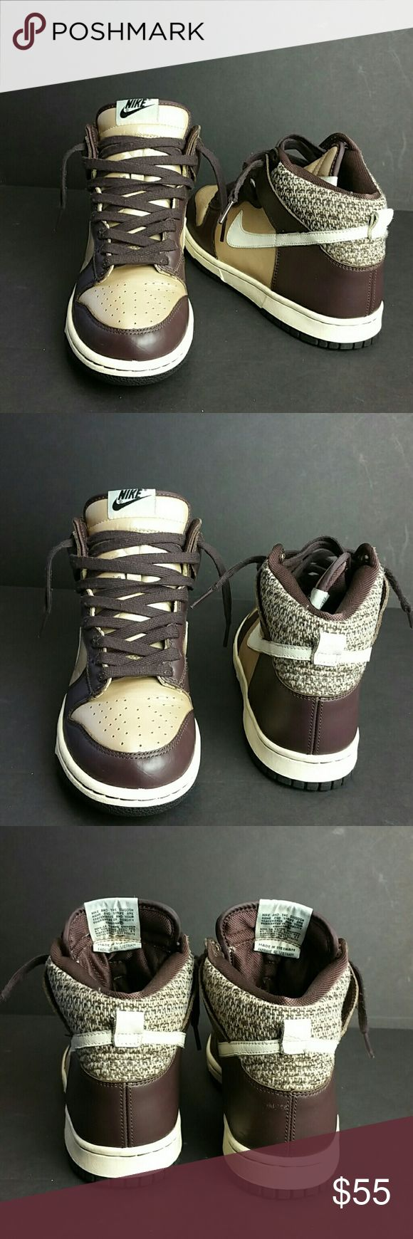 NIKE DUNK HI WOMEN SHOES VERY CLEAN INSIDE-OUT   SKE # AZ PO NIKE Shoes Athletic Shoes