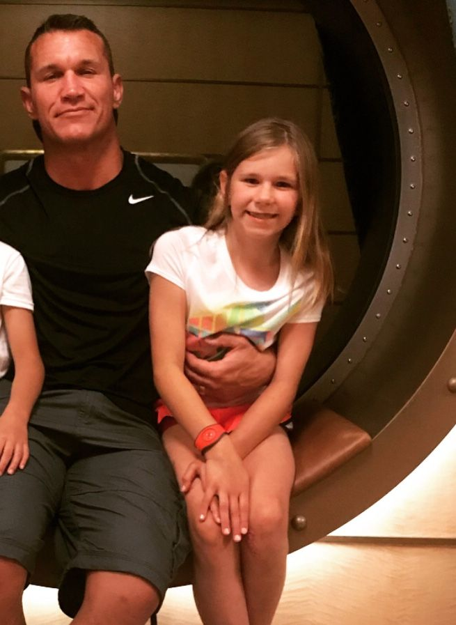 WWE Superstar Randy Orton and his oldest daughter Alanna ...