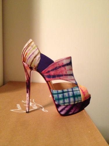 boutin shoes - christian louboutin tie-dye sandals - Bbridges