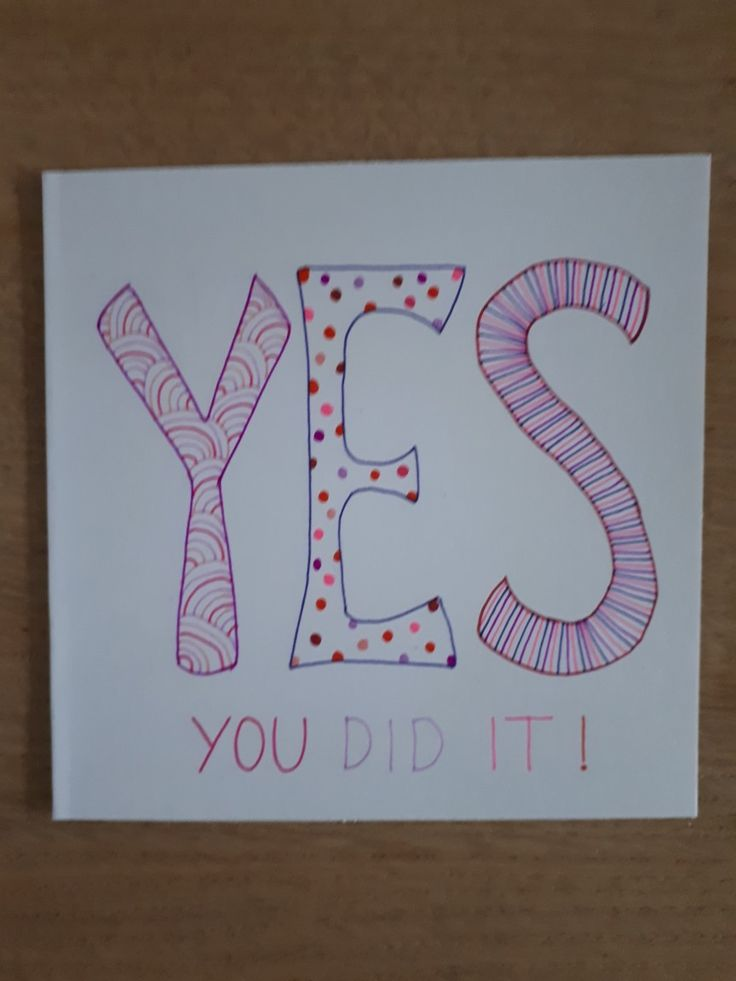 Yes you did it by Astrid