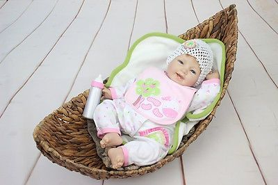 nice 22Reborn Baby Doll Soft Silicone Lifelike Girl Gift for Children Dairy Cow - For Sale Check more at http://shipperscentral.com/wp/product/22reborn-baby-doll-soft-silicone-lifelike-girl-gift-for-children-dairy-cow-for-sale/