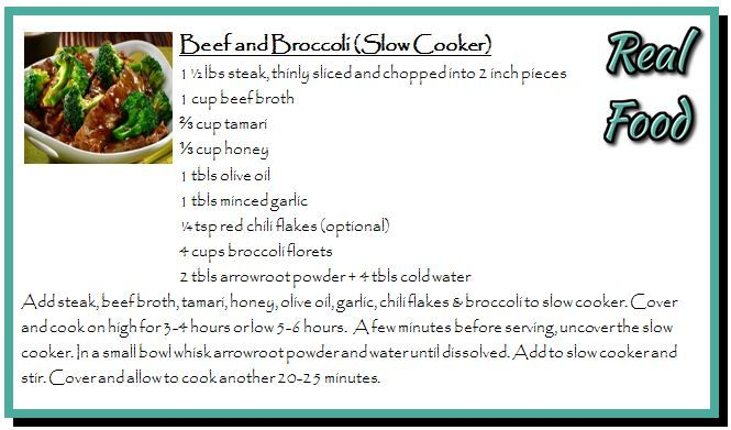 Beef and Broccoli (Slow Cooker)