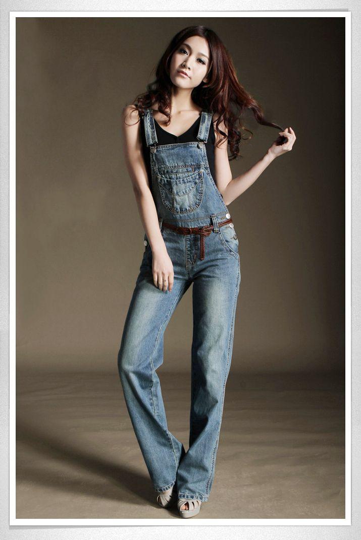 Биб женский осенью 2013 новой корейской версии сезоне джинсовые комбинезоны Брюки женские брюки тренда - Taobao