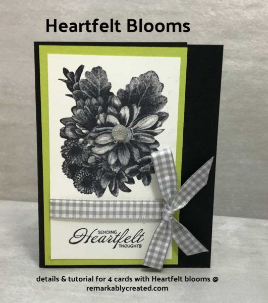 Heartfelt Blooms free gift option with purchase during Sale-a-bration