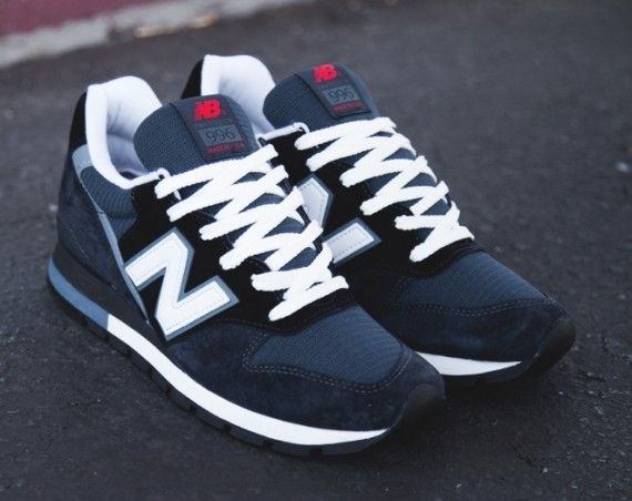 New Balance 996 – Navy – Steel Blue – White