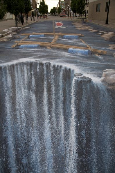 Another awesome 3D street painting by Edgar Mueller