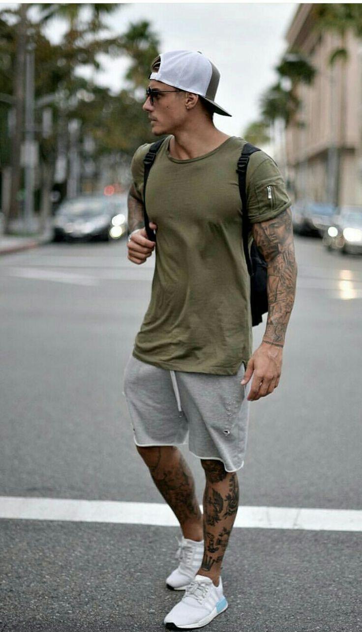 Herren Sommer Mode sportliche Outfit Inspiration. Mag ich? #mensfashion #style #… – Dennis Konscholke