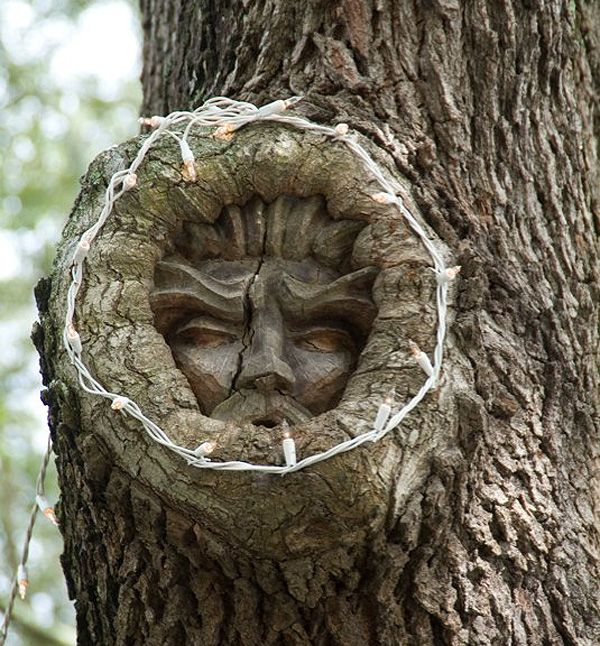 Many people like to leave their spirit carved in a tree, but most of the time it takes the form..