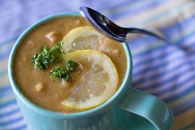 Lemon chickpea and lentil soup. #vegan #gf