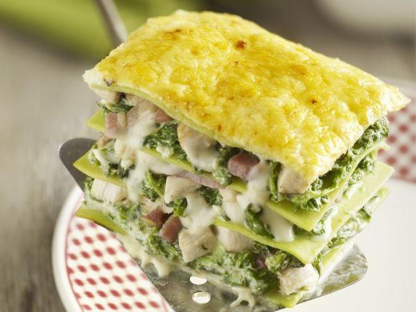 Lasagne met kip en spinazie - Libelle Lekker!