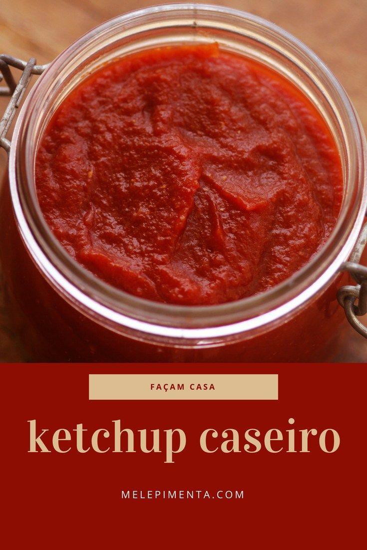 Delicioso ketchup caseiro para deixar seu hambúrguer com um sabor especial. Confira a receita e faça em casa um ketchup muito saboroso e saudável.