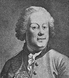 Johann Albrecht von Korff - Klein var frimurer og har tegnet frimurerlogen i Helsingør.