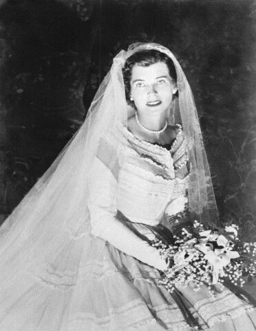 Kennedy brides: Eunice Kennedy married Sargent Shriver on may 23 1953