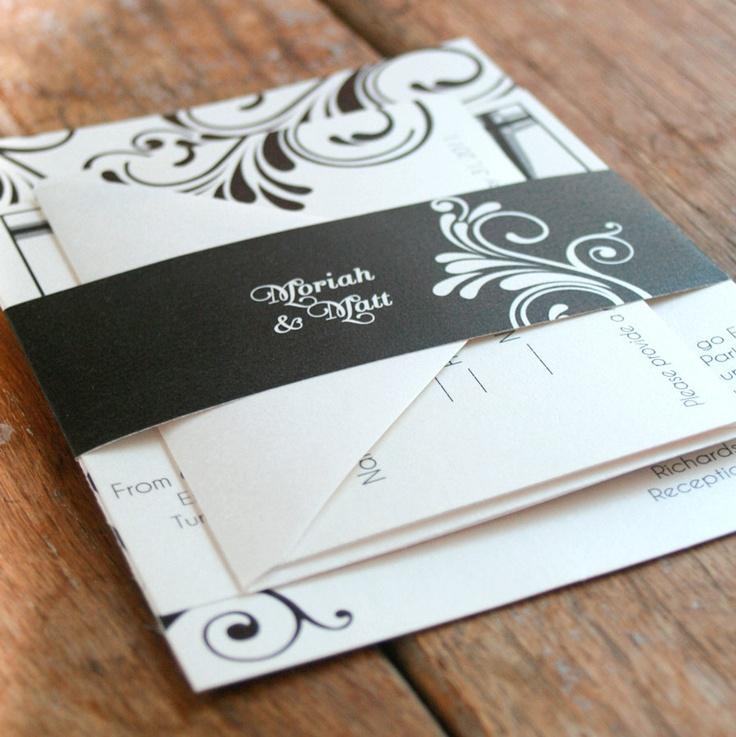 190 best Wedding Invitations images on Pinterest | Invitation ...
