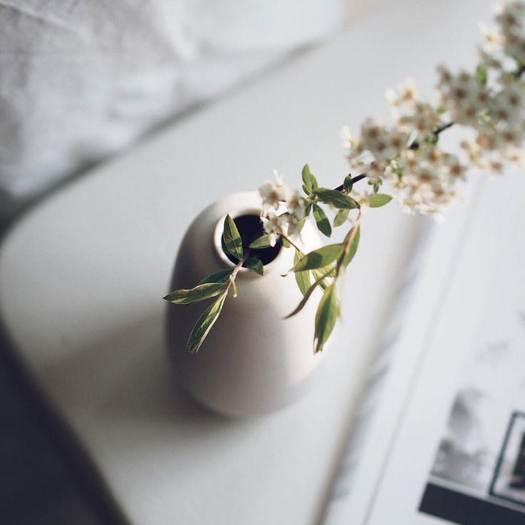 Via instagram | @erikaappelstrom The soul that sees beauty may sometimes walk alone. // Goethe  #quoteoftheday #white #linen #flowers #onmywindow #eveninglight #vitt #myhome #interior #interiordesign