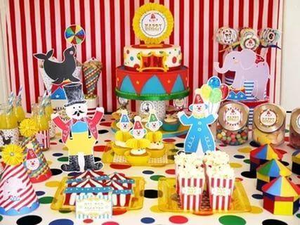день рождения в стиле цирк: 25 тыс изображений найдено в Яндекс.Картинках