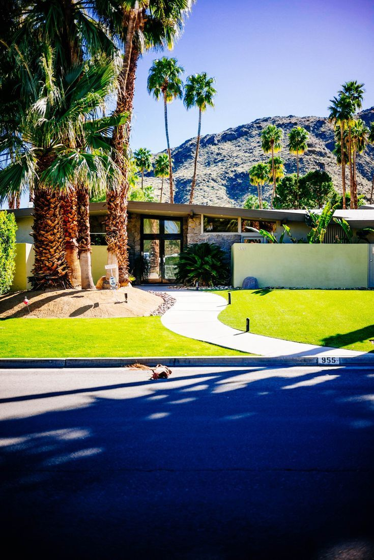 Palm Springs Midcentury Home Tour Palm Springs Mid