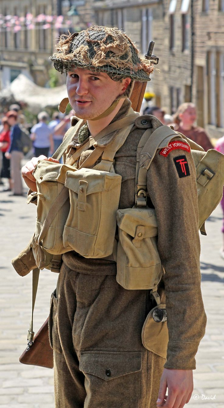 Day reenactment ww ii pictures pinterest - East Yorkshire Regiment Haworth