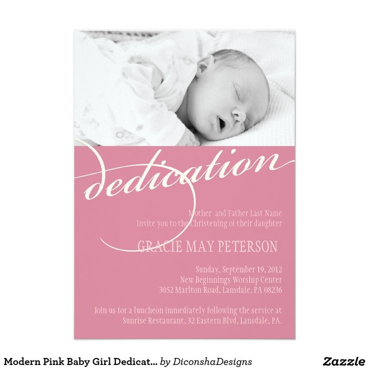 9 best Baby dedication invites images on Pinterest | Invites ...