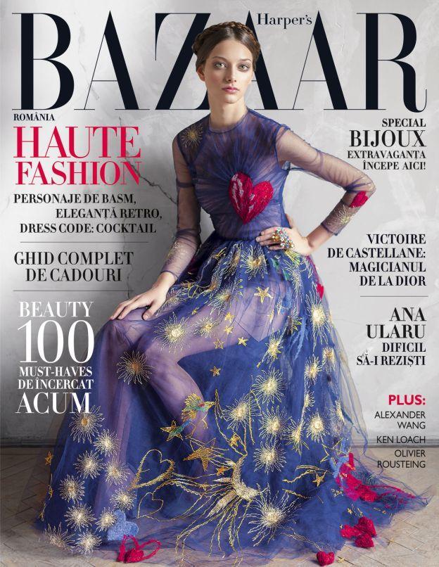 Coperta Nov 2014 - Harper's BAZAAR Romania