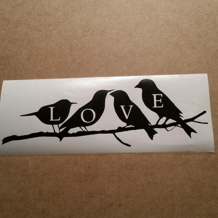Best  Bird Decals Images On Pinterest Home Decor Vinyl - Vinyl stickers for laptops