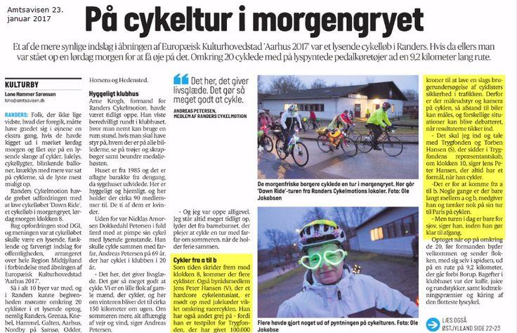 En deltagelse i Dawn Ride udviklede sig til en snigpremiere på Hold Afstand Til Cyklisten projektet