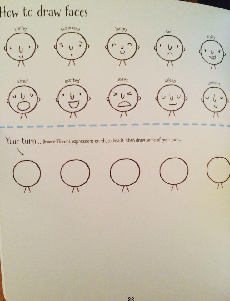 How to draw faces #raisasbooks