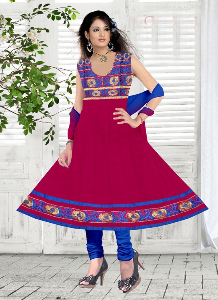 Anarkali suit bulk collection supplier from surat catalog