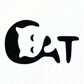 It uses negative space to add character to the logotype. It's simple but clever. The curves portray a sense of fun and silliness.