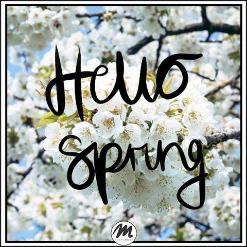 Wreszcie wiosna <3 Hello Spring #quote