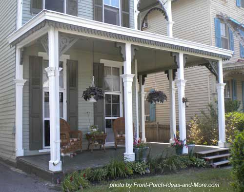 55 best images about porch roof designs on pinterest for Covered front porch plans