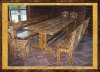 Состаренные столы под старину Праздничный