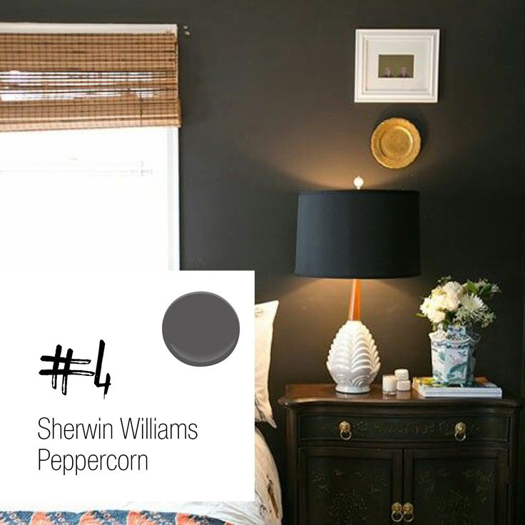 Sherwin Williams Peppercorn With Images Room Paint