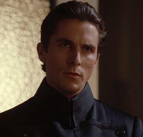 Christian Bale gif A KISS FROM CLERIC JOHN PRESTON!! :-)
