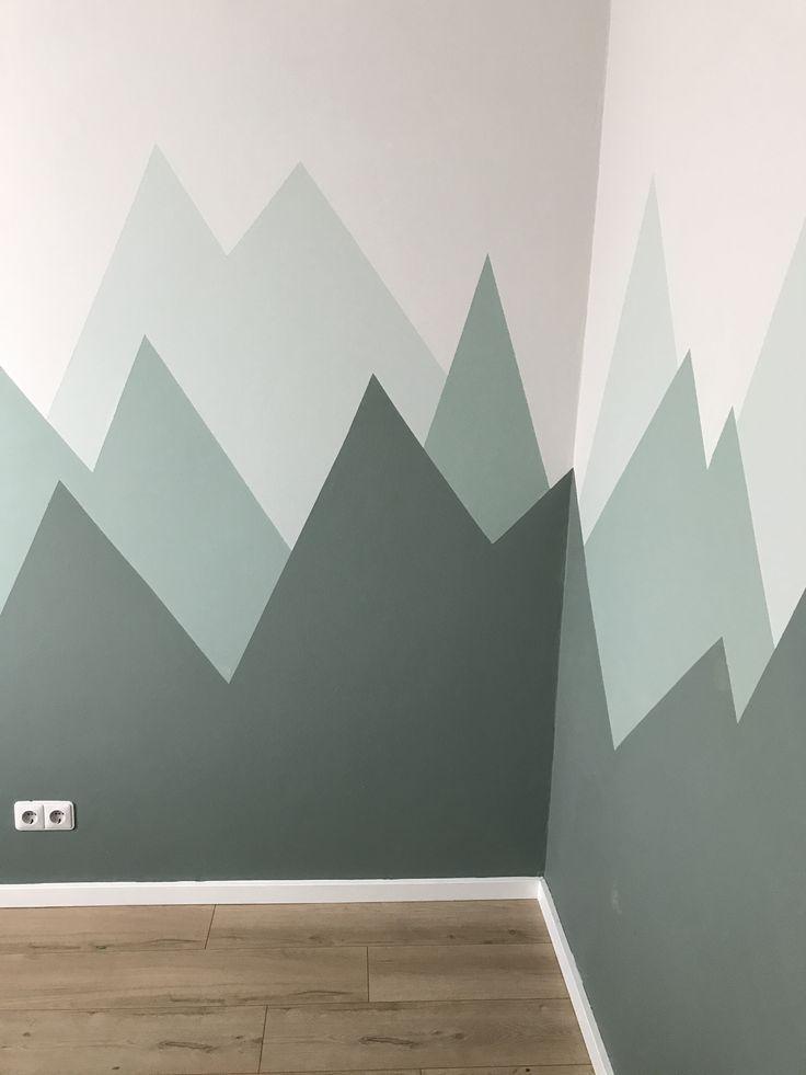 Ist diese Wand nicht wunderschön? #Dekorieren #Kinder #Zimmer