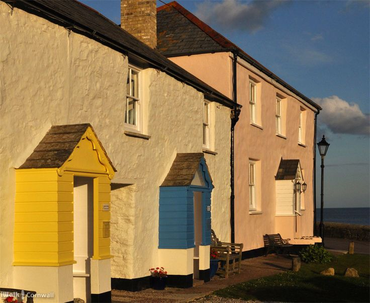 Cottages at Charlestown, Cornwall