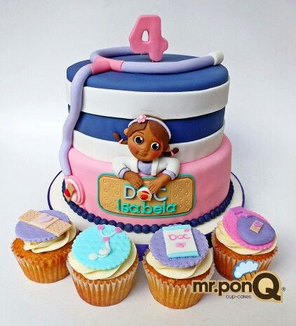 Doc Mcstuffins Birthday Cake Images